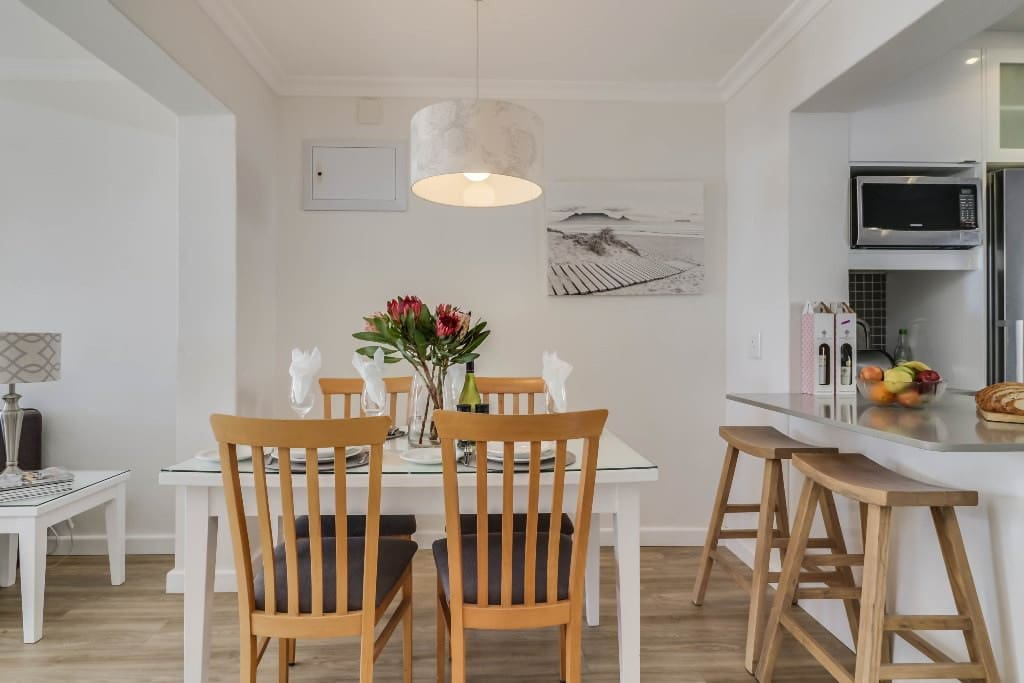 Adaptable space for dining or working on your laptop.  Fibre optic Wi-Fi has been provided.