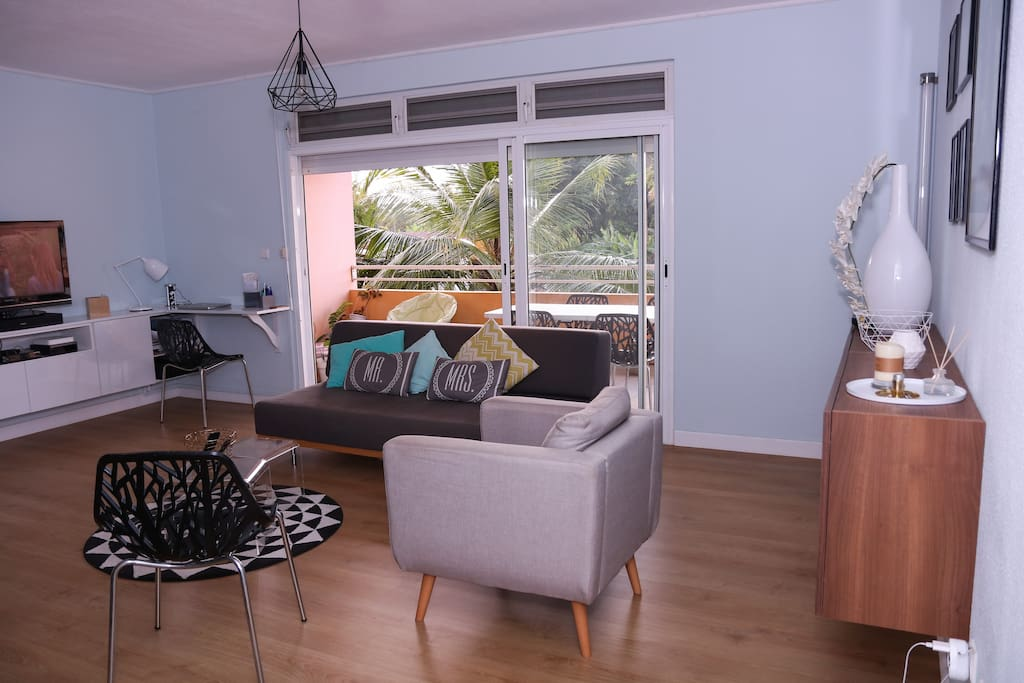 Grande pièce à vivre / Large living room