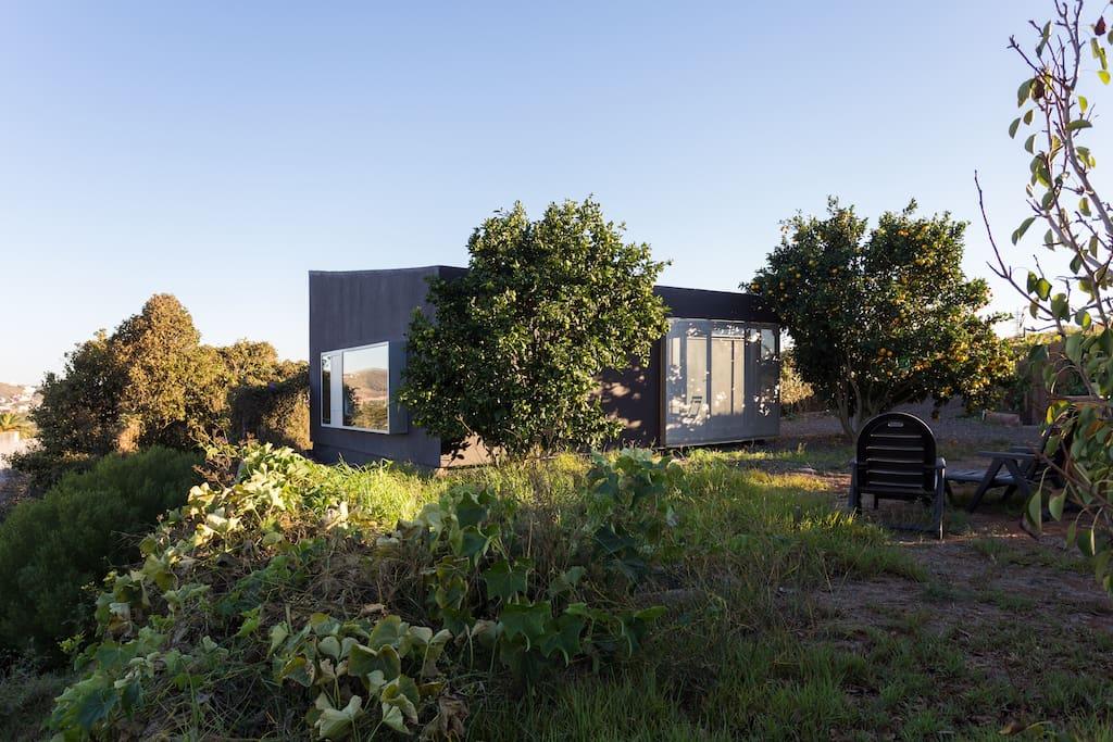 Modern cozy Hut