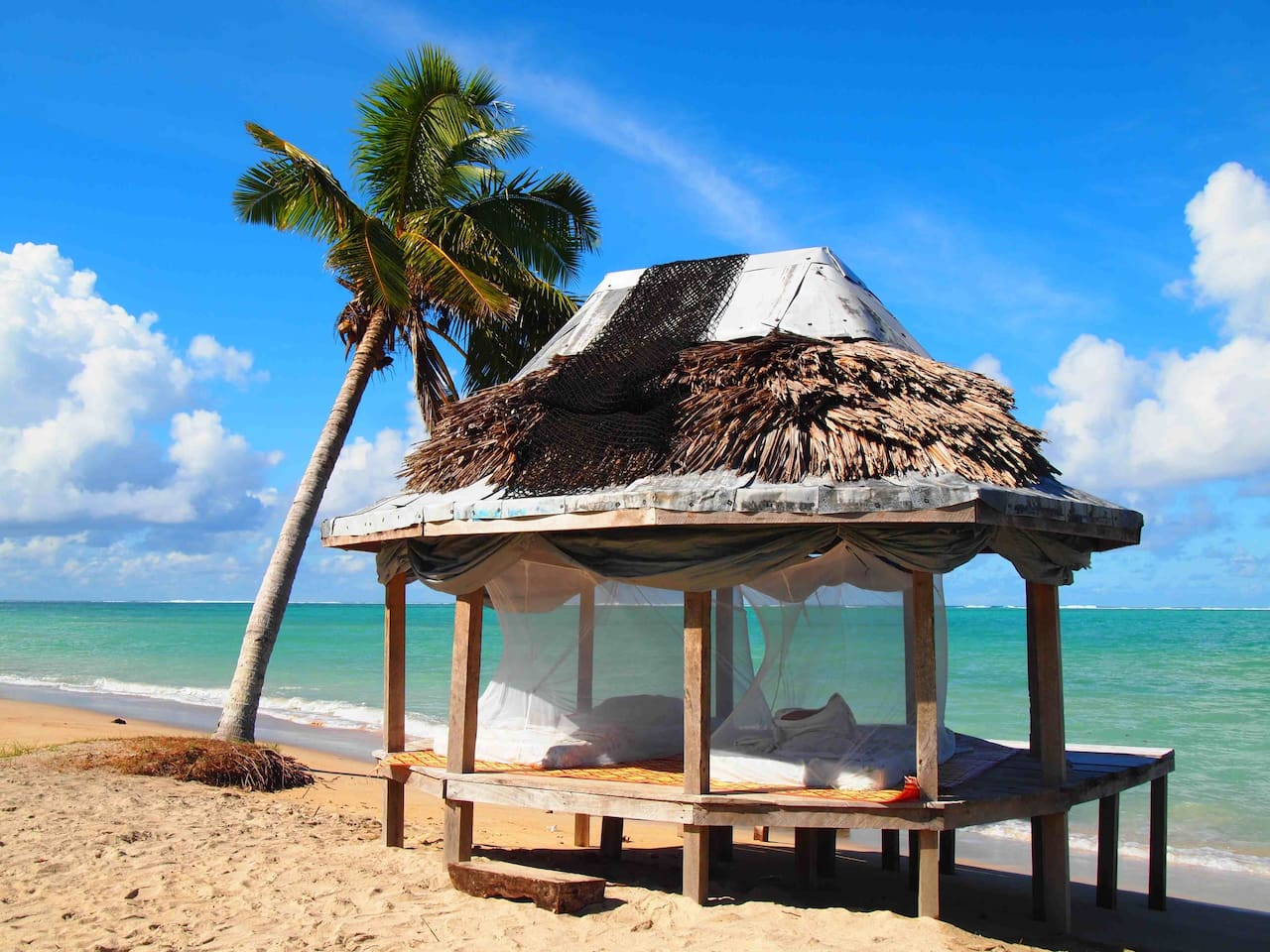 Open Beachfront fale for 2