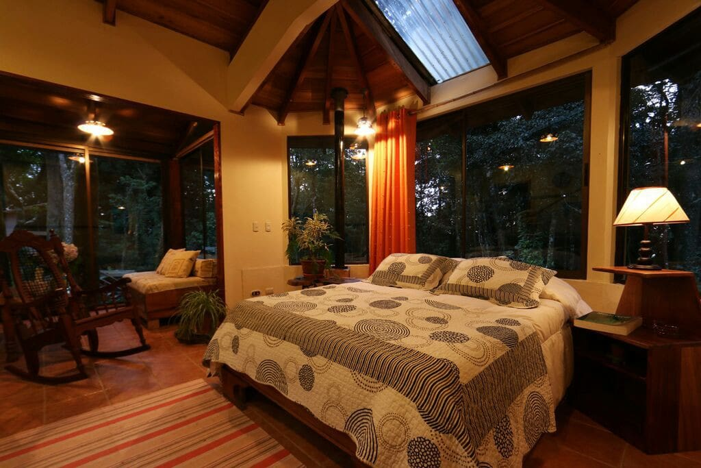 sleeping with the whisper of the forest!