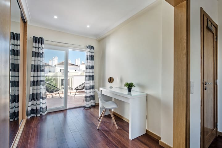 The Master Bedroom Has A Fantastic Dressing Area To Enjoy And A Private Terrace