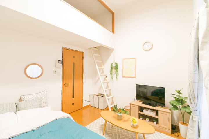 Convenient Tenjin Area!5min walk to sta!AS423