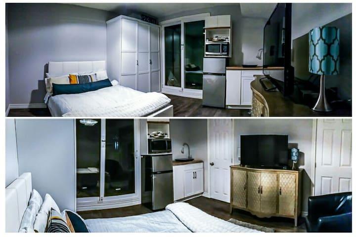 Cozy Studio Suite + Parking / Wifi (East Toronto)