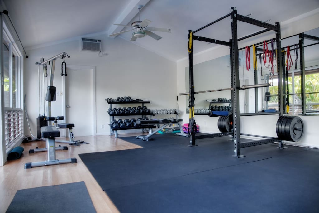 Take advantage of our state of the art gym!