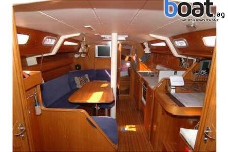 Stanza doppia in barca a vela con bagno privato - ヴィラシミウス - ボート