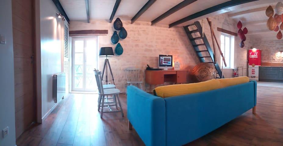 La pause colo' Ré - Sainte-Marie-de-Ré - Apartamento