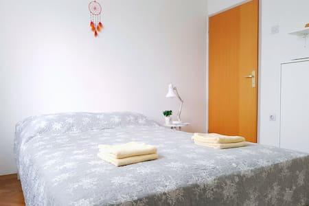 Bright room in Ljubljana | Free parking