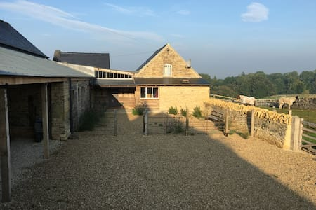 Cotswold working horse and arable farm - Chilson - Hus
