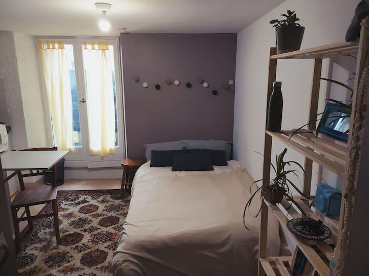 Studio cosy, rennes Centre (proche Hôtel Dieu)