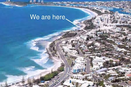 Oceanfront Alex-Mooloolaba ~ Full floor apartment. - Alexandra Headland