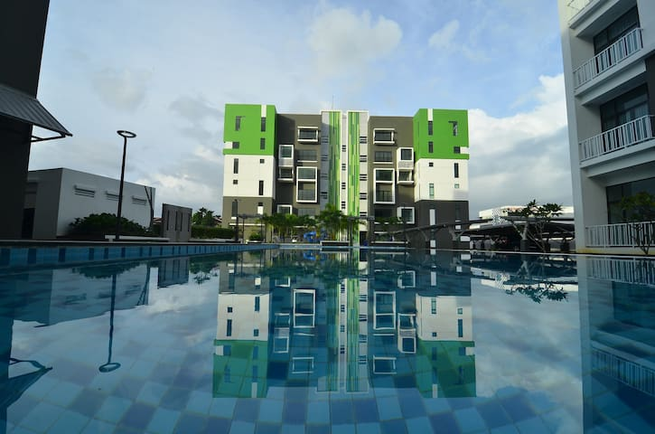 The Cube | New & Spacious Condo | Boulevard Mall - Kuching