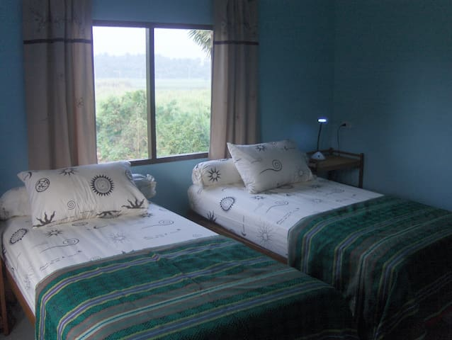 One of our 3 rooms in the guest house