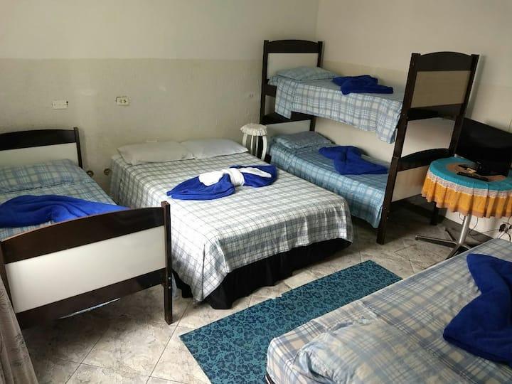 Apartamento para 6 pessoas
