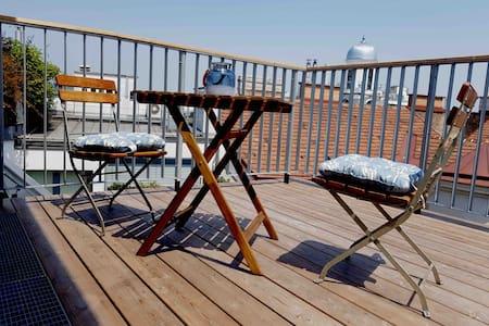 Wunderschönes Apartment mit Terrasse in Zentrum