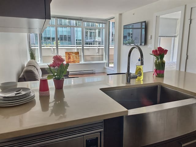 Central/luxury condo downtown yaletown
