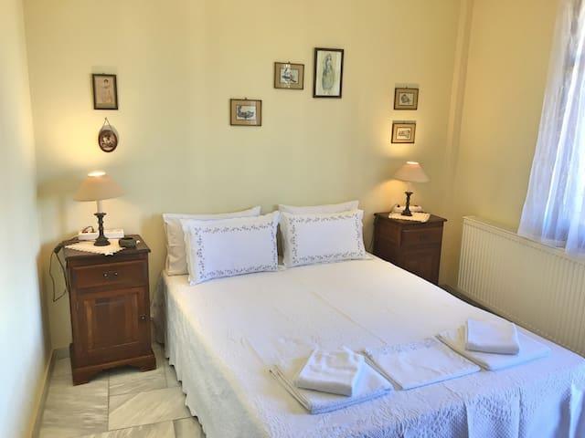 Second floor main double bed bedroom