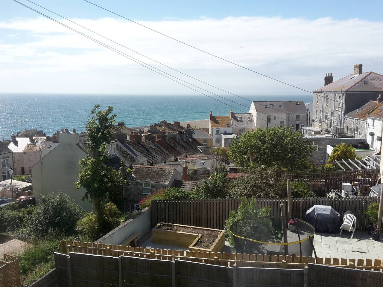 Beautiful Chesil Beach View from the bedroom window