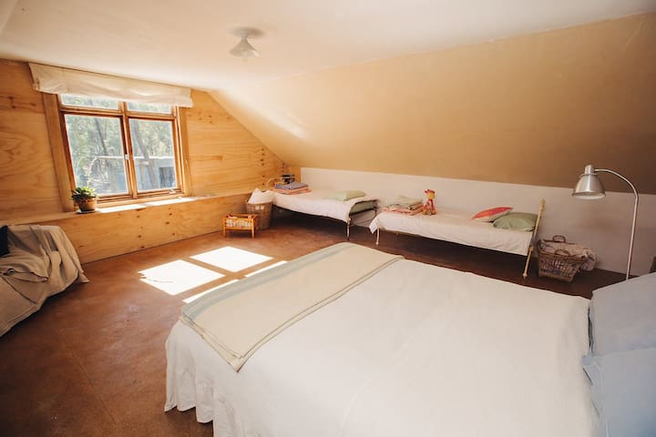 + two single beds
