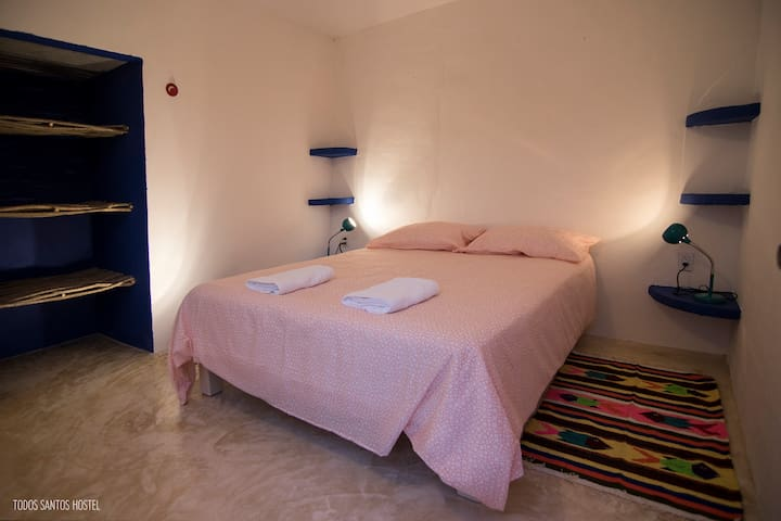 Double room - Todos Santos Hostel