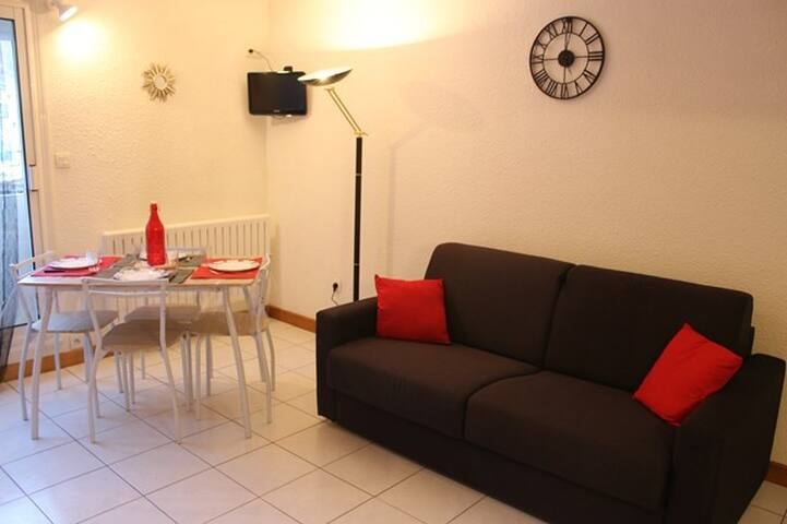 Pleasant studio 4 people, Résidence Néouvielle N ° 103