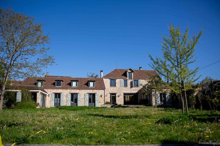 La Ferme du vieux Moulin - Saint-Germain-lès-Arpajon - Hus