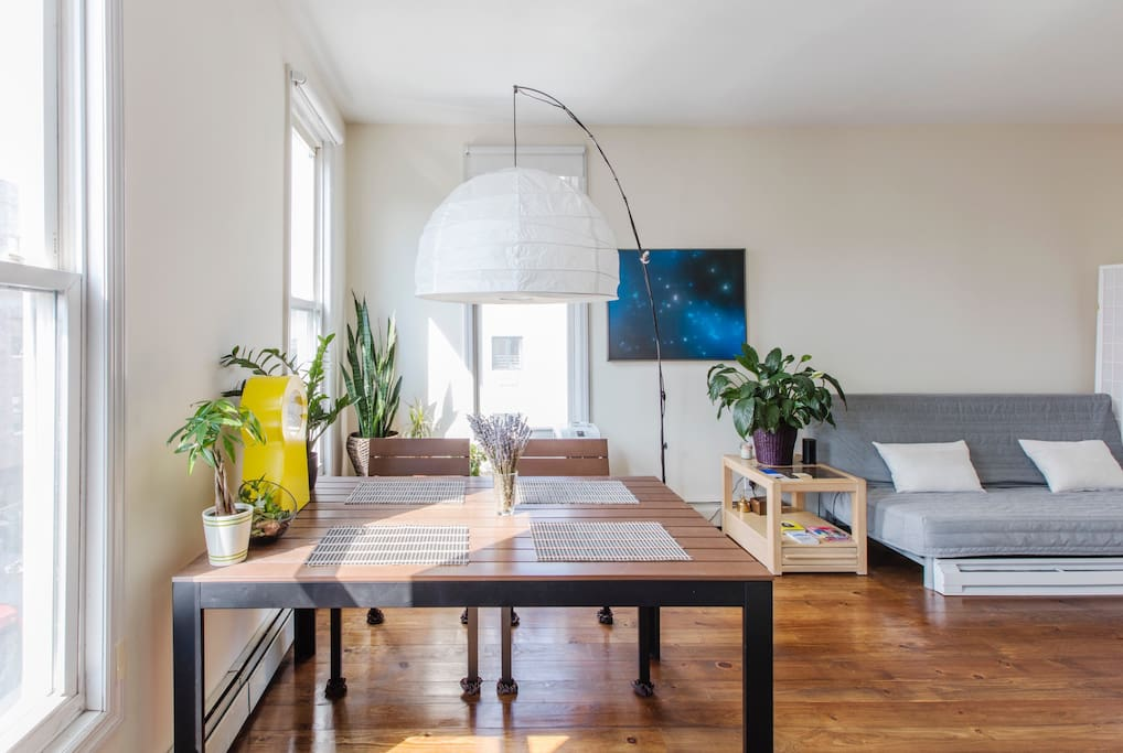 Dining table/Living room - common area