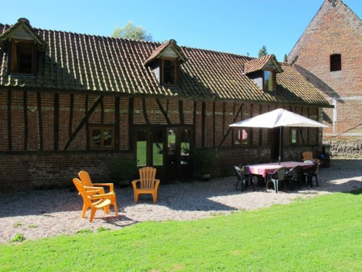 La Roseraie - Self-catering Holiday Cottage for 8