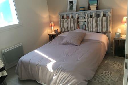 Agréable chambre 2 personnes - Arvert - บ้าน