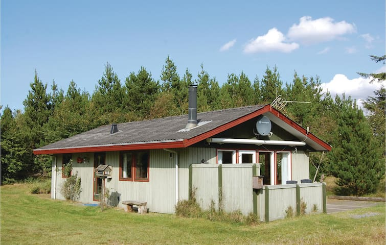 Holiday cottage with 3 bedrooms on 63 m²