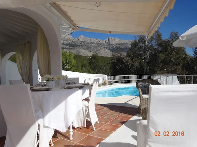 Villa sea vew, swimming pool , Altea la Vella - Santa Clara - Holiday home