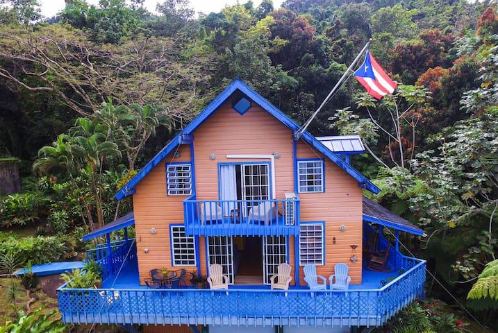 Casa Alice | Chalet in El Yunque Rainforest