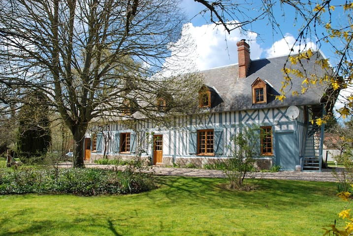 Charming Normandy house near Paris - Nassandres - Hus
