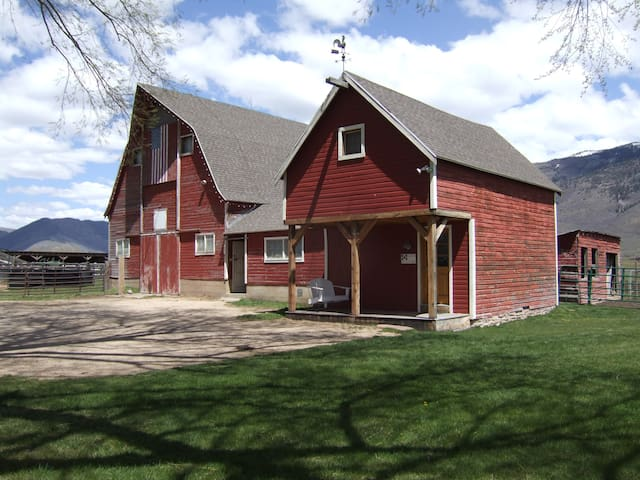 Restored Bunkhouse on 9 acre farm - Kamas - Autre