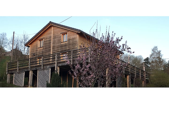 Chez Siouab - Charming Wooden House