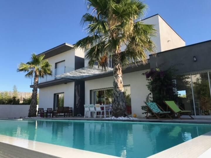 Villa Terra Viva 6-8 pers à 400 mètres de la Plage