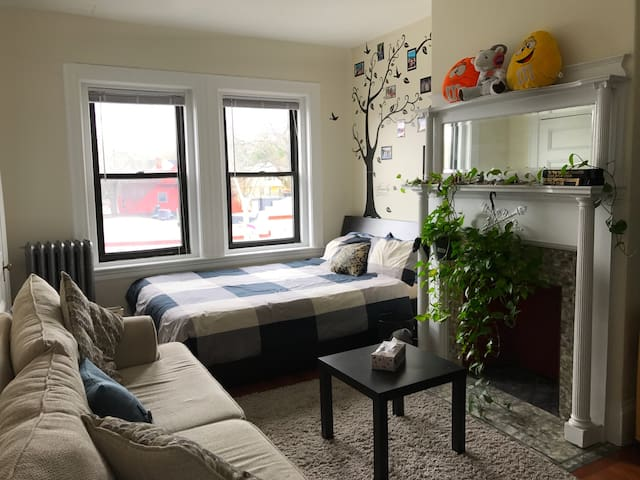 Great location, and a comfy Apt ☺️ - Brookline - Apartment