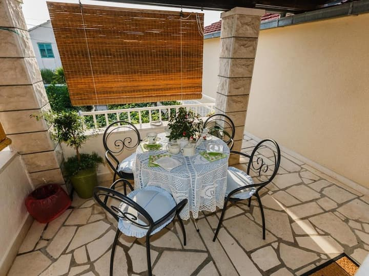 Apartments Roda - Standard One Bedroom Apartment with Terrace (Helena) - (ST)