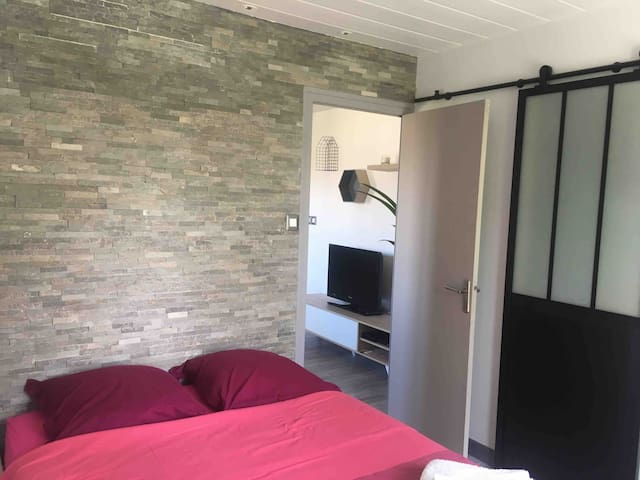 Cosy and bright flat in annecy