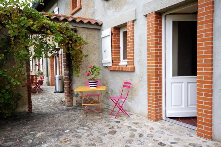 Chambres d'hôtes Ondine et Igor - Saint-Marcellin-en-Forez - Bed & Breakfast