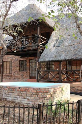 Thandiwe, vakantiehuis bij Kruger Park.
