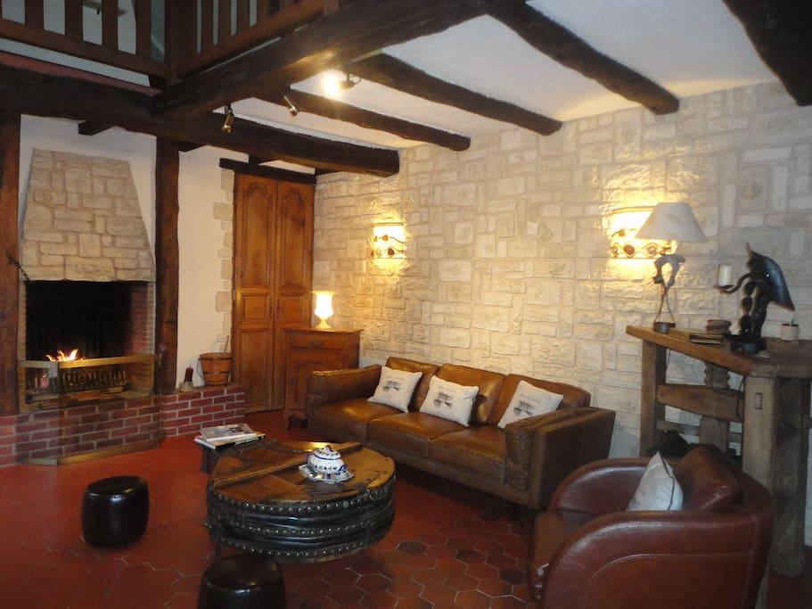 Maison de charme avec piscine sauna jacuzzi case in for Camping avec piscine nord pas de calais