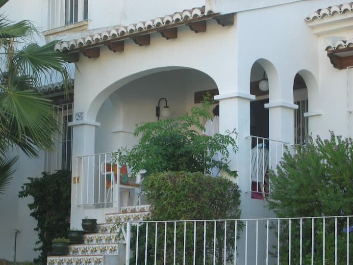 Self contained villa with shared pool in Moraira