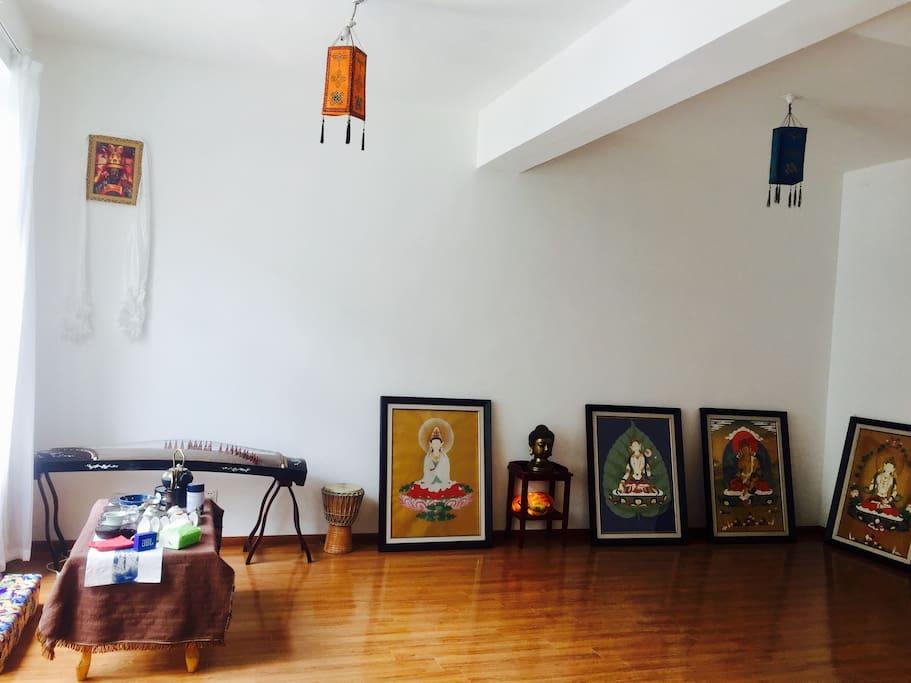 客厅全景~