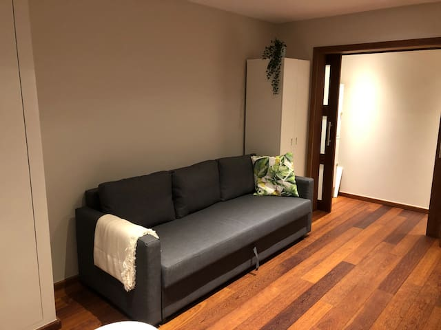 1st floor with sofa bed