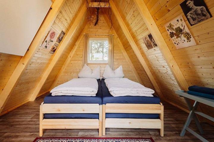 Haus Anna Elbe - Waldhütte Biberbau