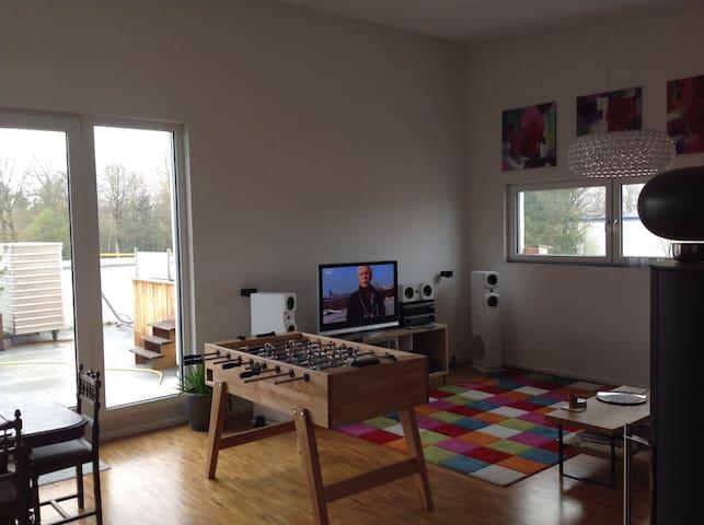Penthouse Zimmer mit top Anbindung