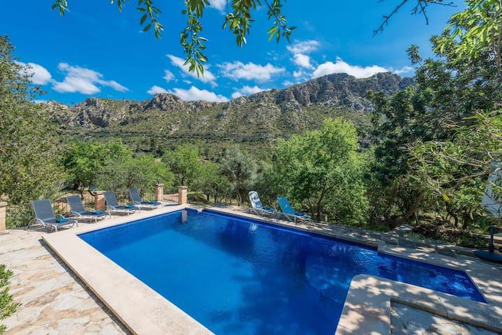 YourHouse Tarongera - villa with pool in Andratx, Tramuntana mountains