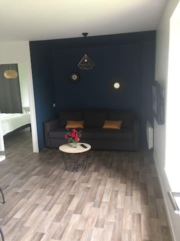 Appartement lumineux et chaleureux en Bretagne