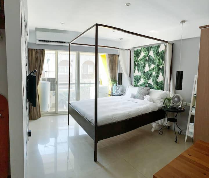 Taipei CBD  Bali inspired studio 3mins to KOR
